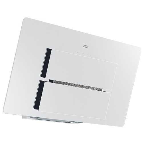 Franke FMA 907 WH bílé sklo + DÁREK%, Komínová digestoř šikmá designová 90cm