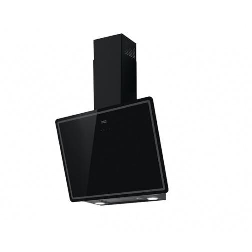 Franke Smart Vertical 2.0 FPJ 615 V BK/DG A + DÁREK, Komínová digestoř šikmá 60cm, Černé sklo