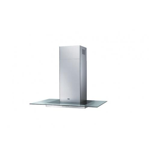 Franke Glass Linear FGL 9115 XS + DÁREK, Komínová digestoř 90cm, Nerez/čiré sklo