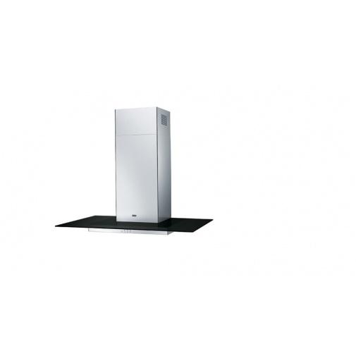 Franke Glass Linear BK FGL 9115 BK/XS + DÁREK%, Komínová digestoř 90cm, Nerez/černé sklo