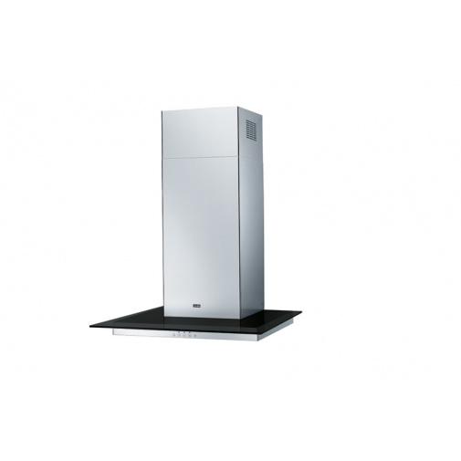 Franke Glass Linear FGL 6115 BK/XS + DÁREK,, Komínová digestoř 60cm, Nerez/černé sklo