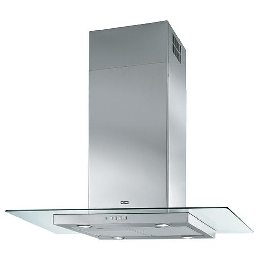 Franke Glass Linear FGL 925 I XS NP + DÁREK, Ostrůvkový odsavač par 90cm, Nerez/čiré sklo
