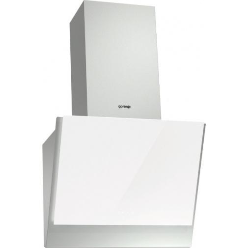 Gorenje WHI641E6XGW Essential Komínový odsavač par, nerez ocel/bílé sklo, P.A.S. Systém