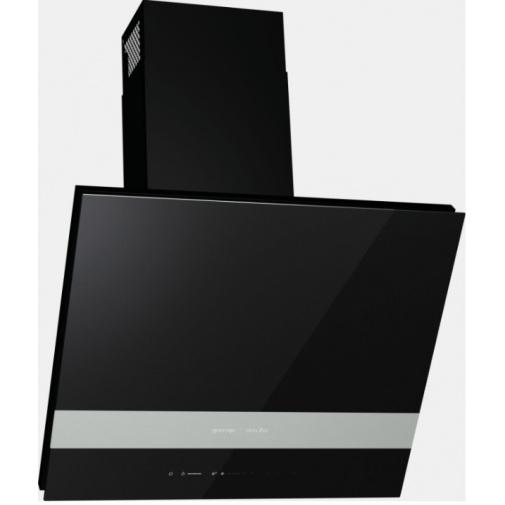 Gorenje WHI643ORAB ORA-ITO II Digestoř komínová šikmá, AdaptTech, černé sklo