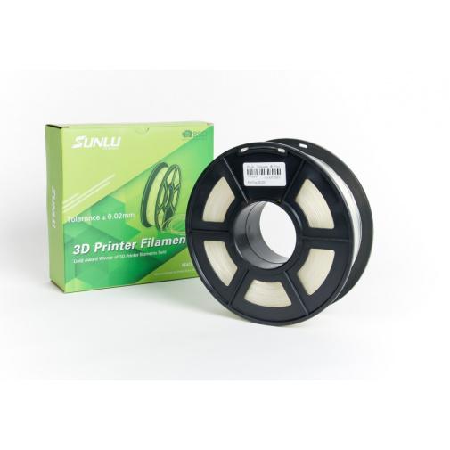 Sunlu Transparent 0103 Průhledná 1,75mm/1kg 3D Printer Filament PLA Tisková struna pro 3D tiskárny