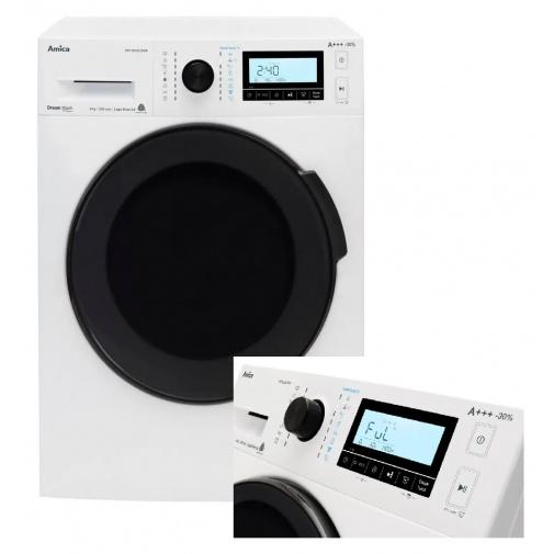 Amica PPF 82233BSW + AKCE, Parní pračka SteamTouch 8kg, A+++,1200ot/min, Přidání prádla Add+