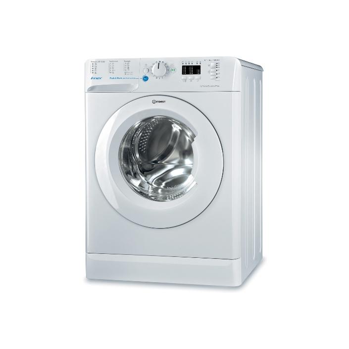 Indesit BWSA 61253W EU Pračka předem plněná A+++,6kg - AKCE