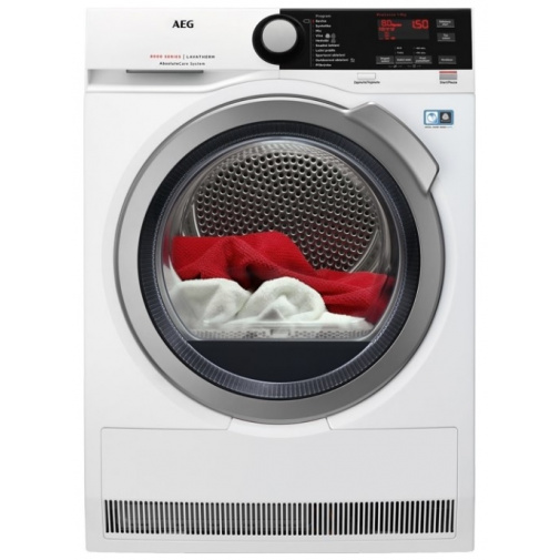 AEG AbsoluteCare T8DBE48SC Sušička prádla s tepelným čerpadlem, A++, kapacita 8kg