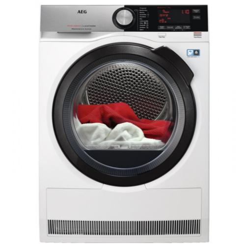 AEG T8DC49BCS AbsoluteCare, Sušička prádla s tepelným čerpadlem, parní funkce, kapacita 9kg