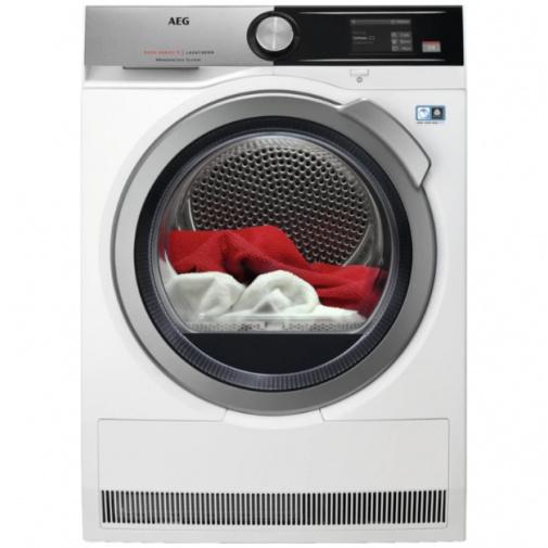 AEG T8DEA68S AbsoluteCare Sušička prádla s pepelným čerpadlem A+++, kapacita 8kg