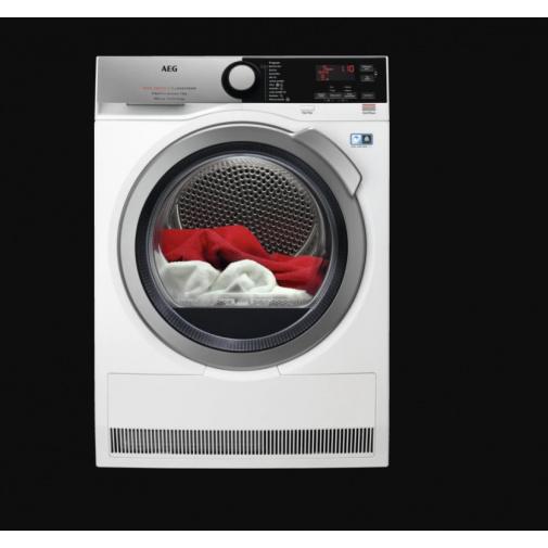 AEG T9DBE69SC FiberPro 3DScan Sušička prádla s tepelným čerpadlem, A+++, kapacita 9kg