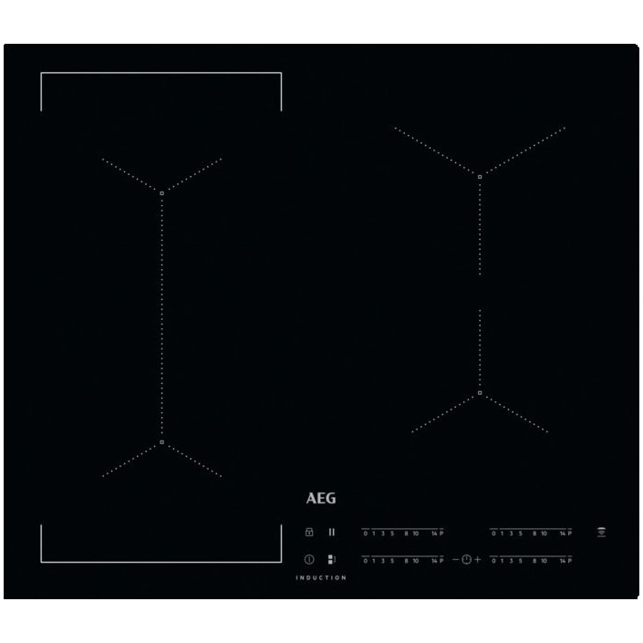 AEG Mastery IKE64441IB Indukční deska 60cm, Windmill / Bridge