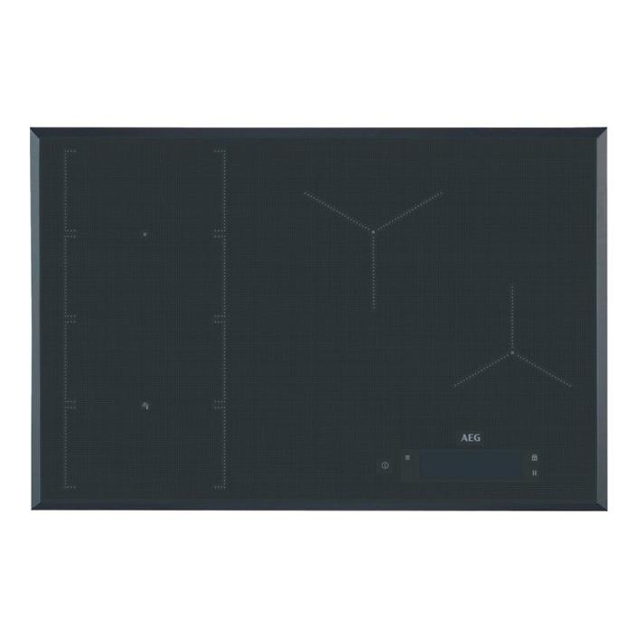 AEG IAE84850FB Tmavě šedá indukční varná deska 78cm, FlexiBridge, SenseCook Fry - AKCE