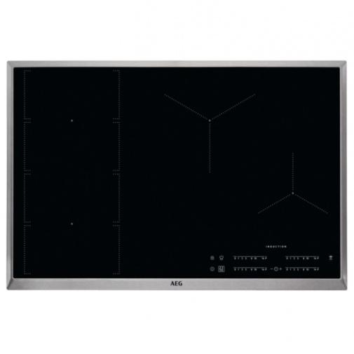 AEG Mastery FlexiBridge IKE84471XB Varná indukční deska 80cm, Windmill, Hob2Hood