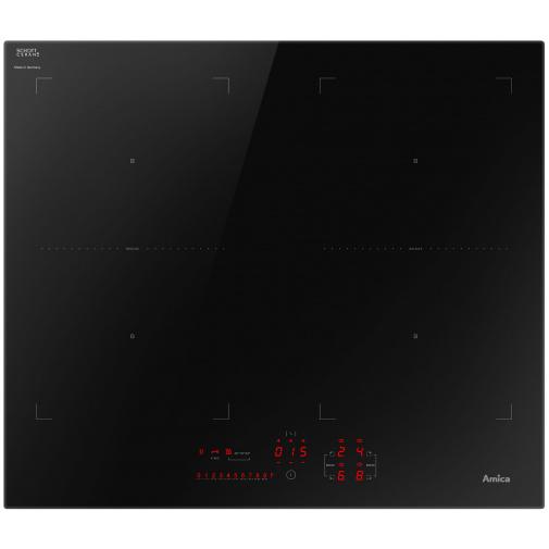 Amica DI 6422 DB + AKCE, Indukční varná deska 60 cm, 2x autobridge octa zóna