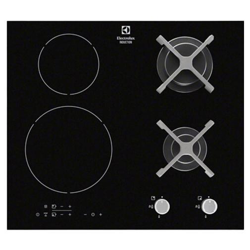 Electrolux Série 300 EGD6576NOK Kombinovaná deska (2xsklokeramika + 2xplyn)