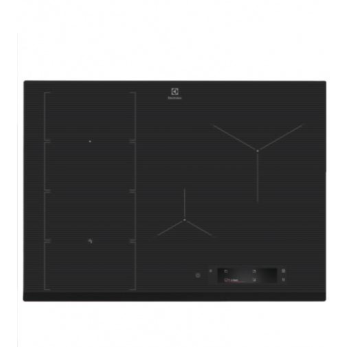 Electrolux EIS7548 800 SENSE SenseFry Indukční deska tmavě šedá 68cm, Windmill / FlexiBridge