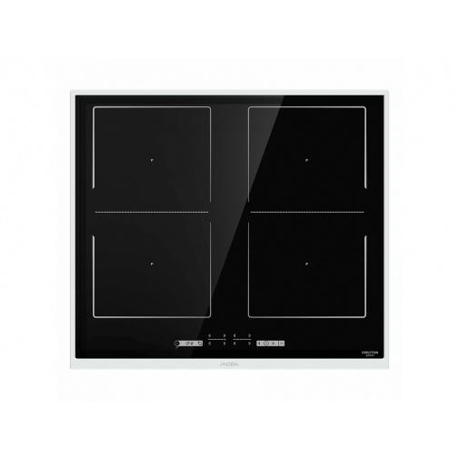 Mora VDIT 656 X + AKCE, Indukční varná deska, nerez rámeček, propojení zón AreaFlex