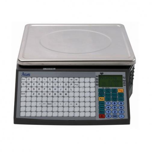 ACLAS LS2N615, 6/15kg + DÁREK, Obchodní váha s tiskem etiket a účtenek (včetně ES ověření)
