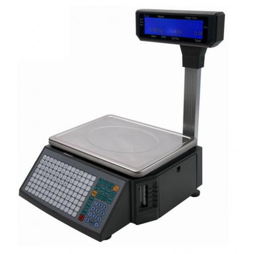 ACLAS LS2R615 - 6/15kg Obchodní s tiskem etiket a účtenek (včetně ES ověření)