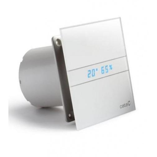 CATA e100 GTH Ventilátor nástěnný 100mm, LED display, vlhkostní automatika