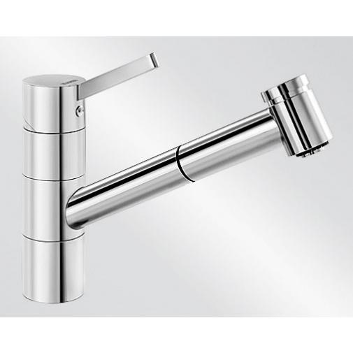 Blanco TIVO-S chrom /517648/ + DÁREK, Dřezová baterie se sprchou
