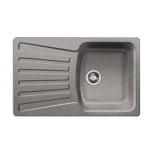 Blanco NOVA 45 S aluminium /511696/ + DÁREK, Granitový kuchyňský jednodřez (bez excentru)