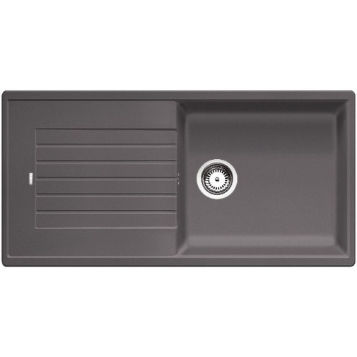 Blanco ZIA 5 S Silgranit šedá skála granit /520512/ + DÁREK, Kuchyňský dřez (bez excentru)