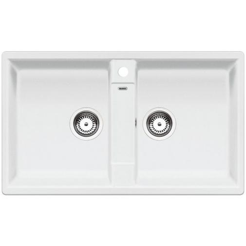 Blanco ZIA 9 Silgranit bílá /516678/ + DÁREK, Kuchyňský dřez (bez excentru)