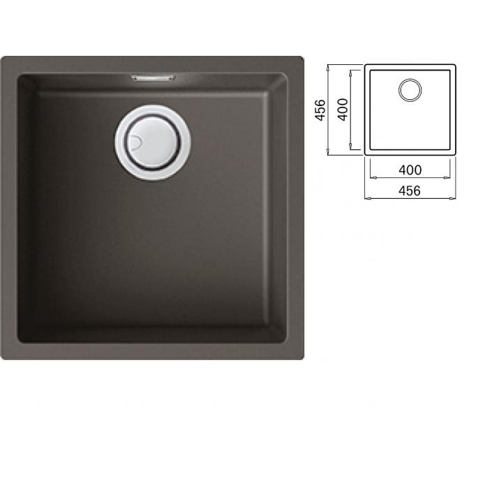 ELLECI ZEN 102 K93 Dove grey Keratek Jednodřez pro spodní montáž + DÁREK a záruka 20 LET