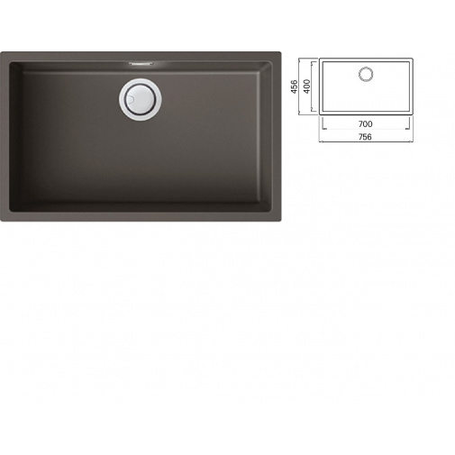 ELLECI ZEN 130 K93 Dove grey Keratek Široký jednodřez pro spodní montáž + DÁREK a záruka 20 LET
