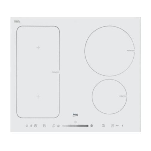 Beko HII64500FHTW Indukční varná deska bílá, 4 x Timer, 4 x Booster, IndyFlex zóna