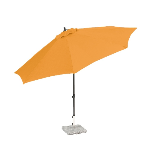 CREADOR VENICE oranžový středový slunečník (bez podstavce)