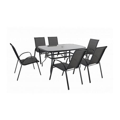 Creador Verona 6+ Zahradní kovová sestava nábytku + DÁREK