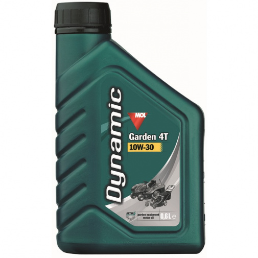 Olej SAE30E/10W-30 pro 4-taktní motory zahradní techniky, balení 0,6l