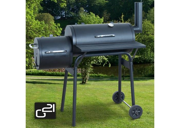G21 BBQ small gril zahradní s udírnou