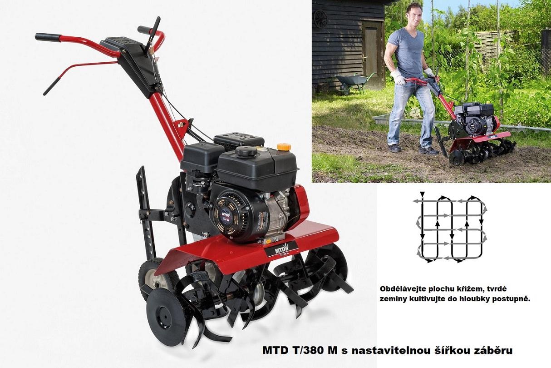MTD T/380 M