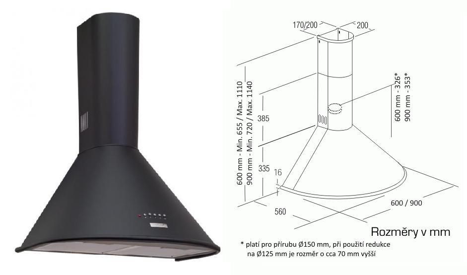 Cata Q 900 černá