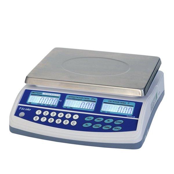 TSCALE QTP 15/30kg Obchodní váha
