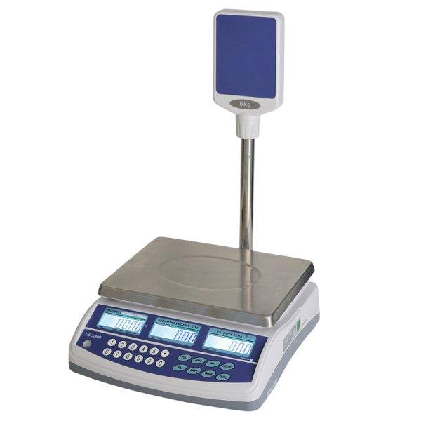 TSCALE QSP 6/15kg Obchodní váha