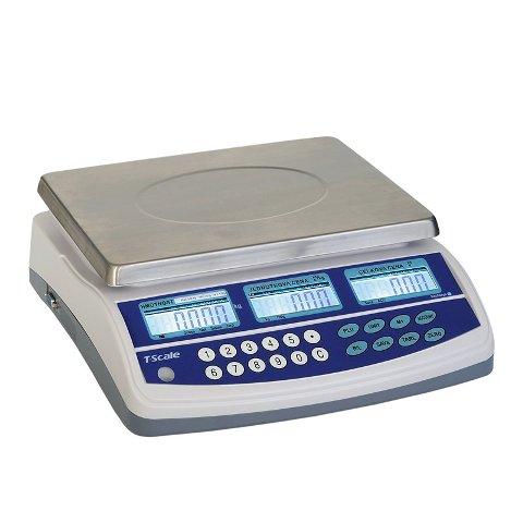 TSCALE QTP 3/6kg Obchodní váha