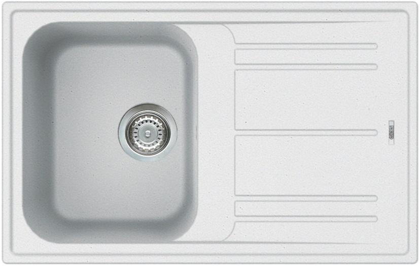 Elleci HOME 300 Bianco titano/Granitek