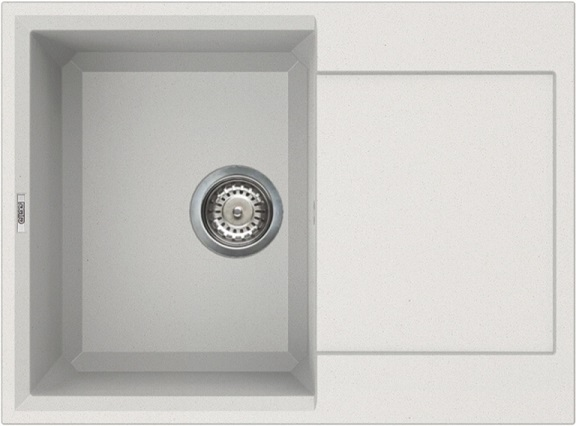 ELLECI EASY 135 Bianco titano/Granitek