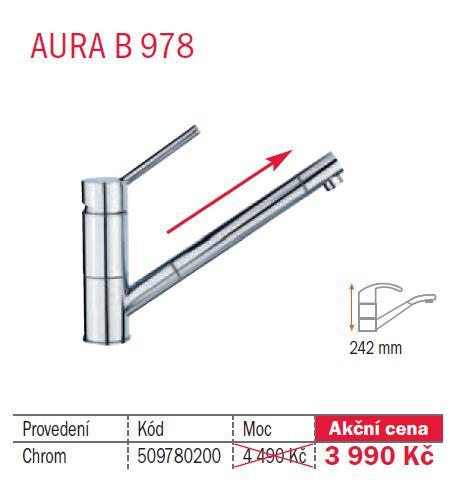 TEKA AURA B 978 Chrom 509780200