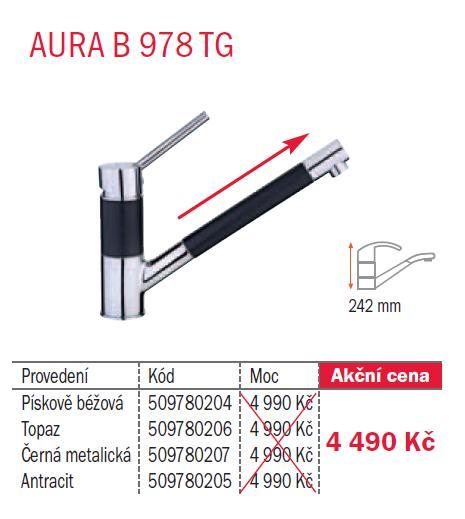 Teka AURA B 978 TG Pískově béžová