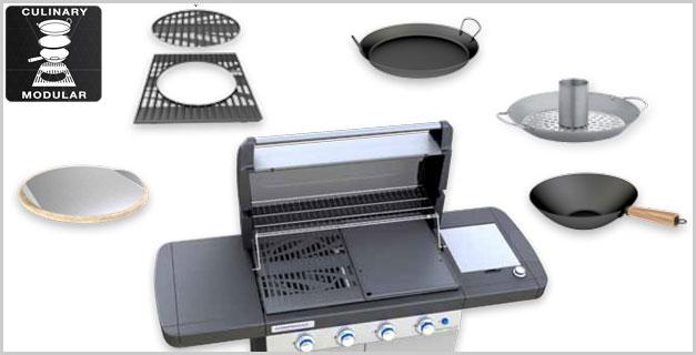 Obrázek galerie pro produkt Campingaz 4 Series RBS LXS + AKČNÍ SET, Zahradní plynový gril s bočním vařičem /2000015658/