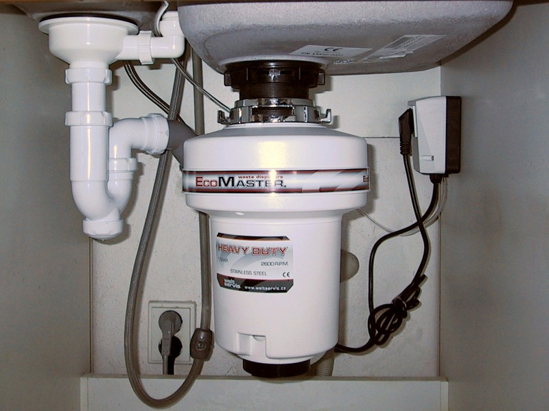 Obrázek galerie pro produkt EcoMaster Heavy Duty Plus + DÁREK a Prodloužená záruka, Drtič kuchyňského odpadu