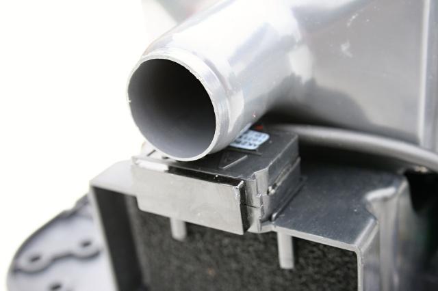 Obrázek galerie pro produkt Jet Dryer SIMPLE bílý Bezdotykový osoušeč rukou, lakovaný kovový kryt