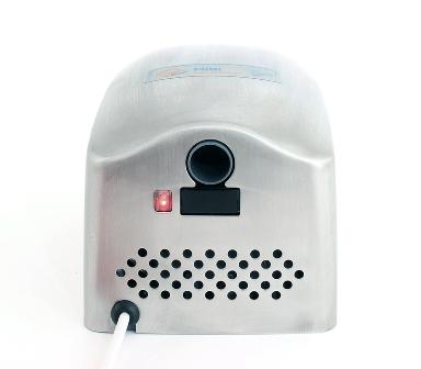 Obrázek galerie pro produkt Jet Dryer MINI nerez Malý bezdotykový osoušeč rukou, nerezový kryt