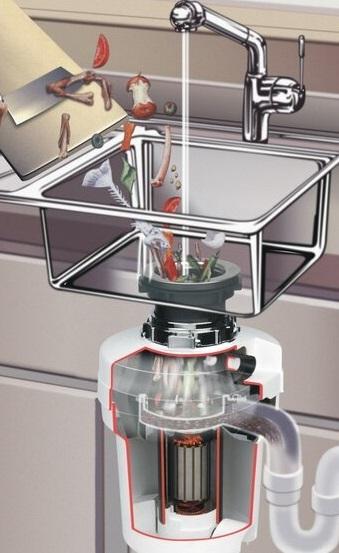 Obrázek galerie pro produkt EcoMaster DeLuxe EVO3 + DÁREK a Prodloužená záruka, Drtič kuchyňského odpadu do větších domácností